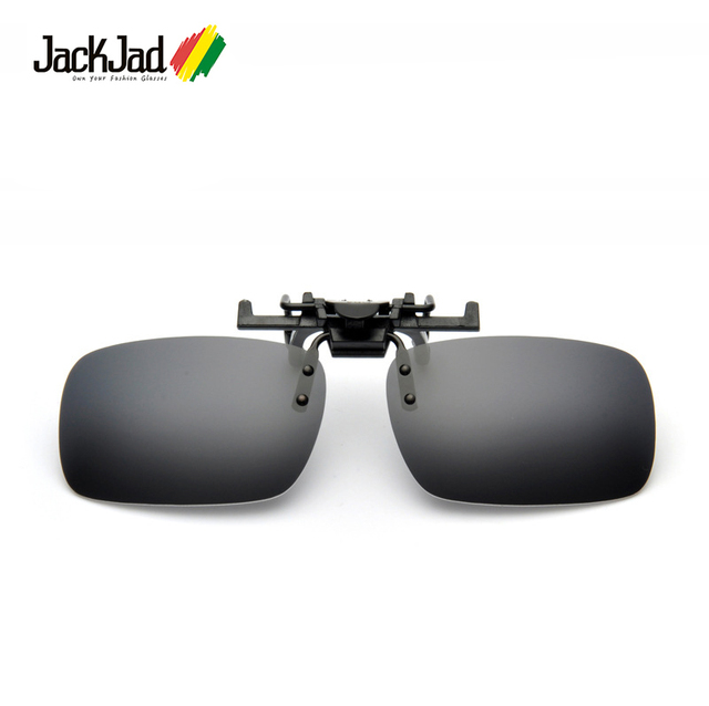d03321616b2337 JackJad Fashion Men Polarized Driving Fishing Travel Glasses Clip Lenses  UV400 Flip Up Sunglasses Lense Night