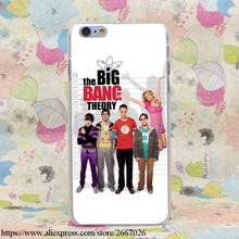 The Big Bang Theorys Hard Transparent Cover Case for iPhone 7 7 Plus 6 6S Plus 5 5S SE 5C 4 4S