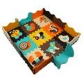 25 pcs Enigma Eva Material de Espuma Esteira do Jogo Para Bebê E Criança puzzle Piso Pad Para Jogos Do Bebê Tapete Interior Padrão Animal Puzzle Mat