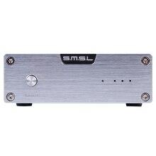 DAC SMSL Sánscrito de La Venta Caliente sexto Aniversario Edición de Audio HiFi Decodificador Coaxial Óptico Puerto de Entrada USB con Adaptador de Energía de Plata