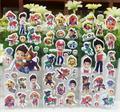 Free shipping 10 pcs/lot 3D carton bubble sticker of dog patrol puffy sticker for kids present, paws sticker,Kids Birthday Gift