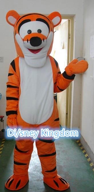 High quality Tigger mascot costume cartoon character mascot apparel free shipping