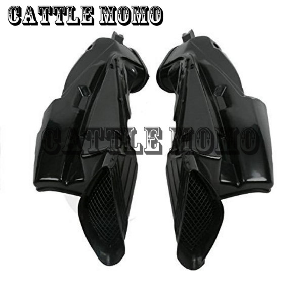 ABS Plastic Motorcycle Ram Air Intake Tube Duct Pipe For Suzuki GSXR 600 750 GSXR600 GSXR750 2006 2007 Air Intake Tube Duct new motorcycle ram air intake tube duct for suzuki hayabusa gsxr1300 1997 2007 abs plastic black high quality