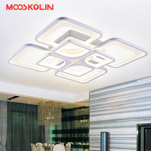 Plafon moderno Llevó Las Luces Del Techo Para la Iluminación de Interior llevó la Lámpara de Techo Cuadrada Accesorio Para Lamparas De Techo del Dormitorio Sala de estar