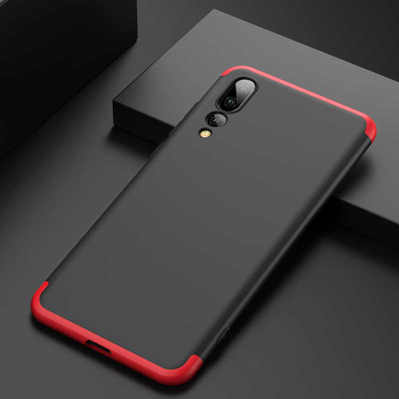 GKK Case for Huawei P20 lite Mate 9 10 20 Pro Case 360 Protection Shockproof Hard Cover for Huawei Nova 3E Case Coque