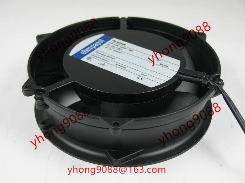 ebmpapst DV 6224 R DV6224R DC 24V 39W 2-wier connector  172x172x51mm Server Square  Fan skil f0156224la 6224