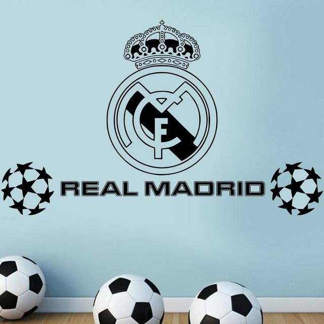 For F5 New Real FC Football Club Logo Wall Stickers Home Decor Mural Art LARGE BIG