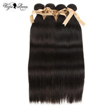 Malaysian Hair Bundles Queen Virgin Remy Hair Whole Sale Bundles Of Weave 28 30 Inch Bundles Straight Hair 3 4 Bundles Deal(China)
