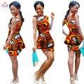 Mulheres 6XL Mulheres Roupas Africano Africano Outfits 2 Peça Define conjuntos de Calções de Impressão Ajustadas Marca de Design Africano dashiki outros BRWWY1033