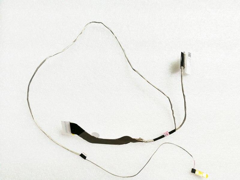 Novo original para lenovo thinkpad e555 e565 led lcd lvds cabo dc02c004v10 aate1 edp cabo