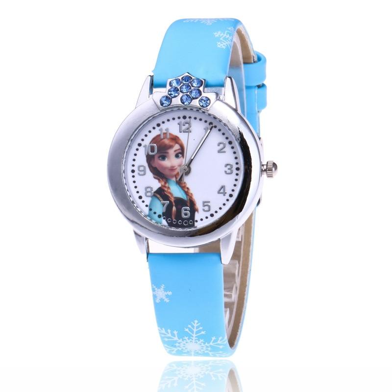 Brand Time Teacher Little Boys Children 39 s First Wrist Kids Watches Cartoon Character Princess Elsa Children 39 s watches for boys in Women 39 s Watches from Watches