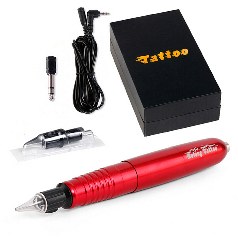 Tattoo Hybrid Pen Rotary Tattoo Machine & Pamanent Makeup Pen Eyebrow Tattoo Gun Body Art Face Care Tatto Equipment professional professional electric rotary permanent makeup tattoo machine microblading eyebrow lips tattoo machine pen body art tool
