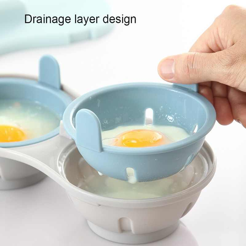 microwave poached egg cooker cookware