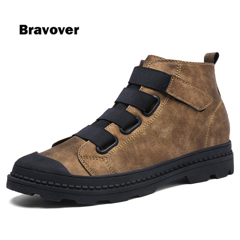 Spring Autumn 2017 Male High Tops pu leather Casual Men Trainers Breathe Shoes Footwear Zapatillas 2017 spring