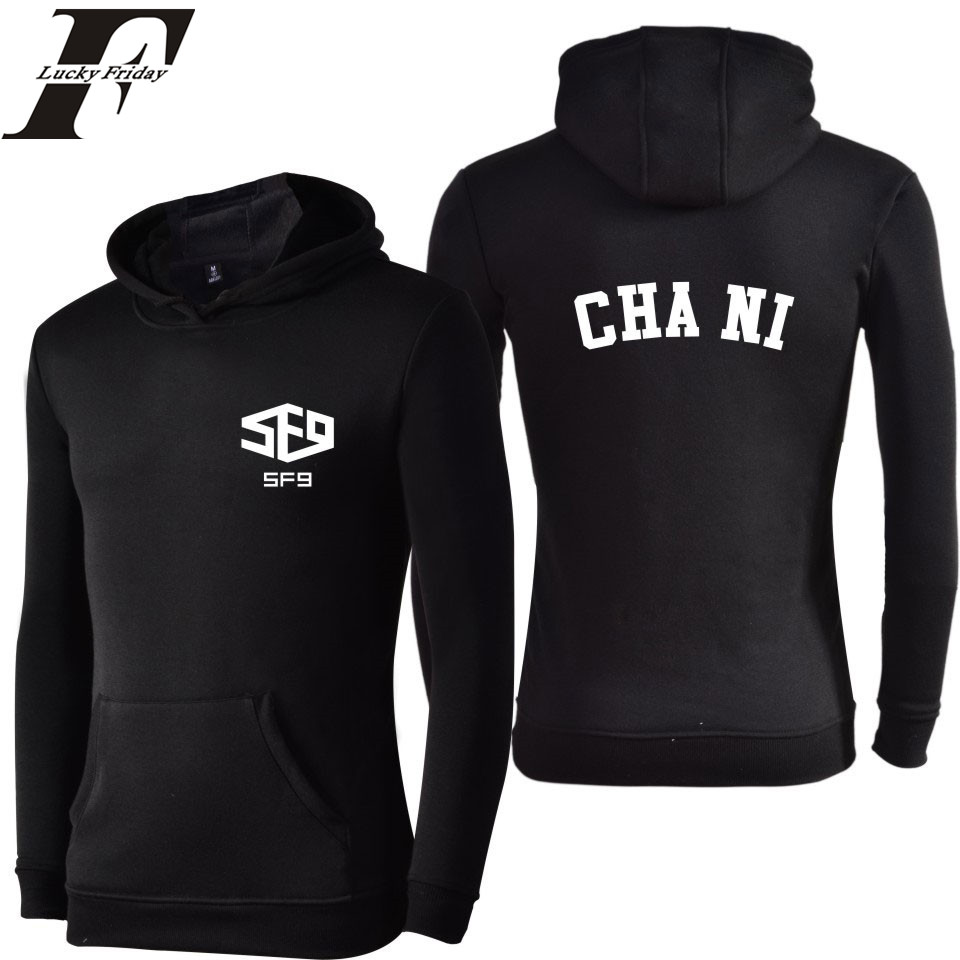 High Quality Men 4xl Hooded  Hoodies Women In SF9 Hoodies Men Sweatshirts Spring Autumn XXS 3XL Hoody