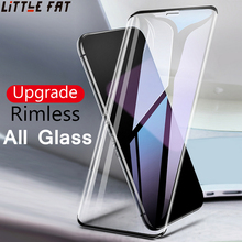 Borderless HD Full Screen Tempered Glass for iphone 6 6 S 7 8 plus X Screen Protectorr for iphone 7 8 6Plus X XR XS MAX 9H Glass