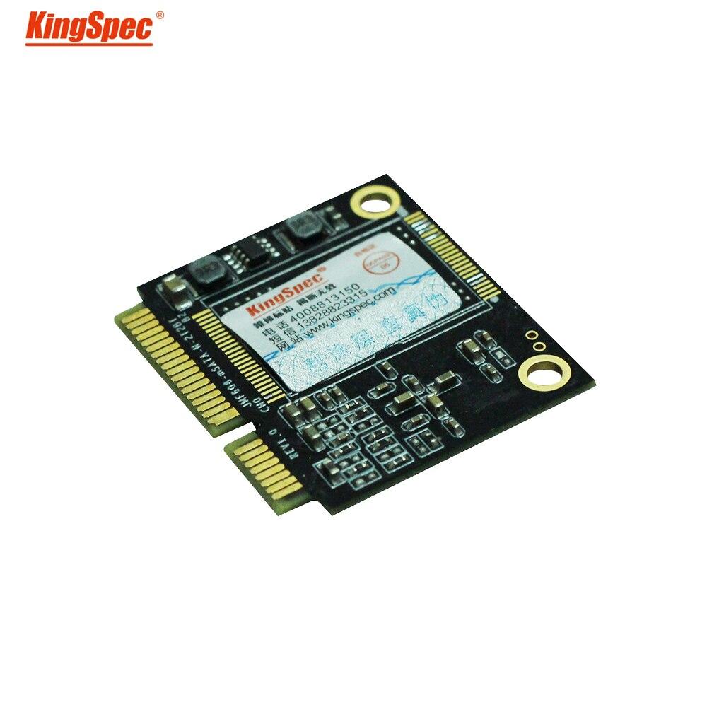 ACSC2M064mSH Kingspec pcie SSD moitié mSATA 64 GB SATA II/III Module ssd disque dur à semi-conducteurs disque dur msata pour tablette PC Ultrabook
