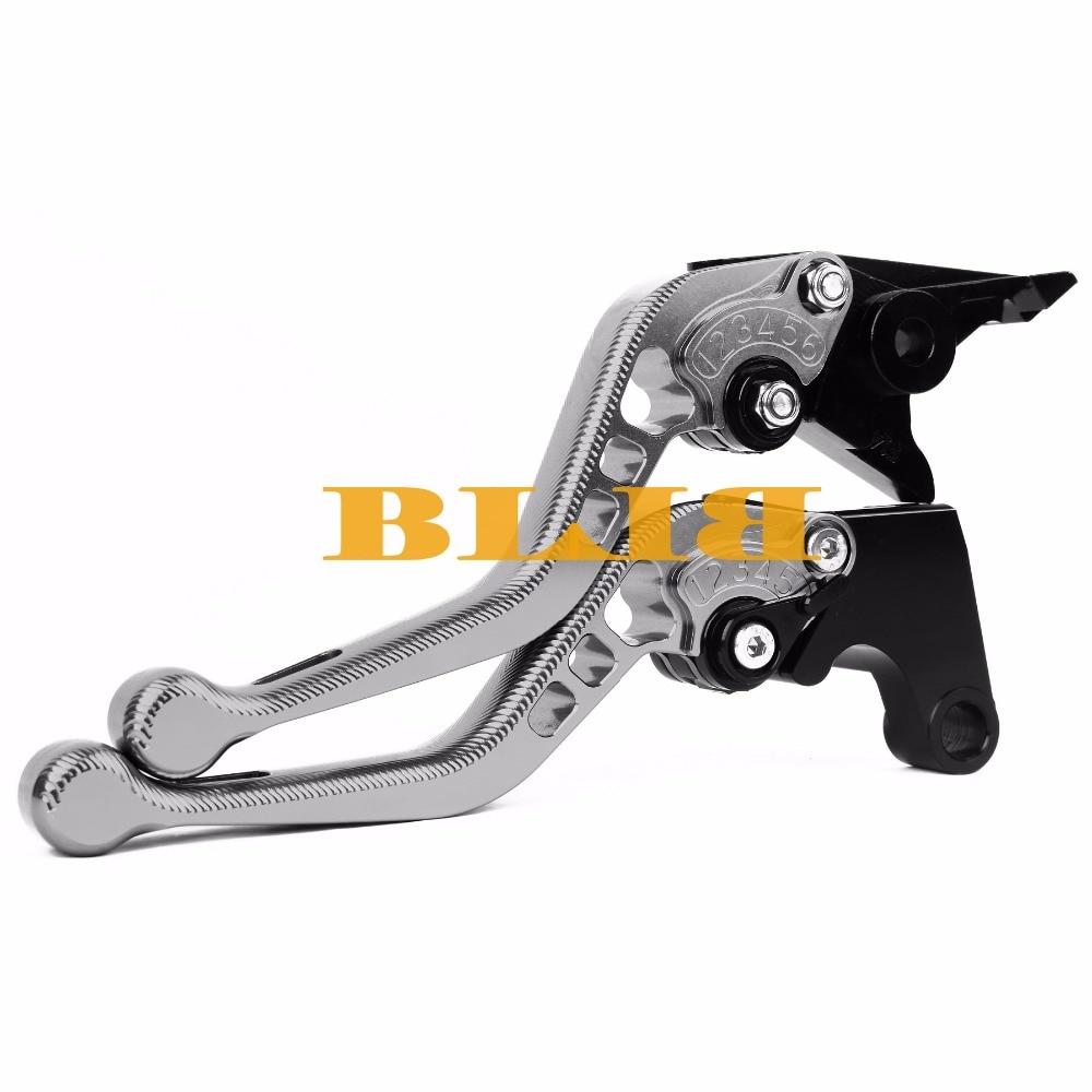 Купить с кэшбэком For Suzuki GSX1250 F SA ABS DL1000 V-STROM TL1000R HAYABUSA GSXR1300 GSX650F CNC Motorcycle 3D Long/Short Brake Clutch Levers