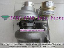 TB2527 465941-5005S 452022-5001S 14411-22J02 465941 452022 Turbo Turbine Turbocharger For NISSAN Y60 Patrol Safari RD28T 2.8L TD