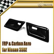 ЭПР Стайлинга Автомобилей ИЗ АРМИРОВАННЫХ Стекловолокном Протока Вентиляционное отверстие Для Nissan Z33 350Z Nismo Передний Бампер На Складе