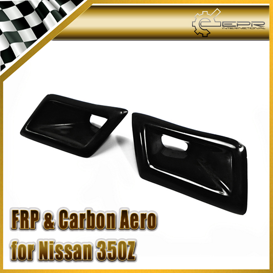 EPR Car Styling FRP Fiber Glass Nismo Style Front Bumper Duct Fiberglass Air Vent Accessories Racing Trim For Nissan Z33 350Z