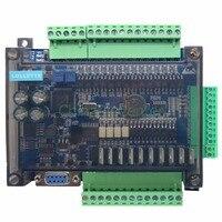 FX3U LE3U 24MT 6AD 2DA RTC (real time clock) 14 input 10 transistor output 6 analog input 2 analog output plc controller RS485