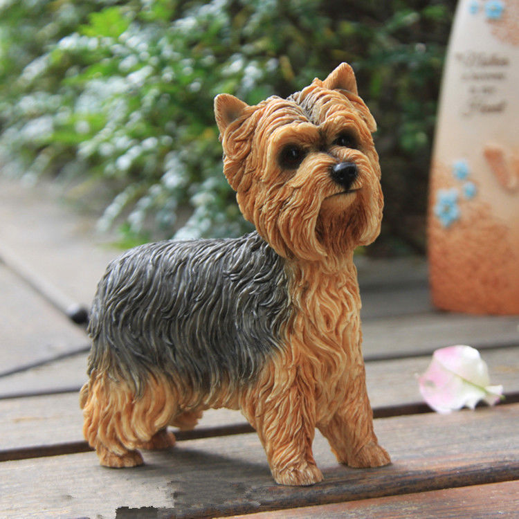 Yorkshire Terrier Dog Hand Painted