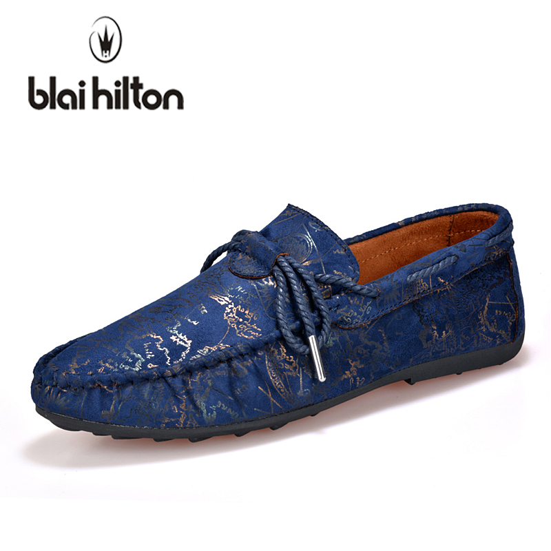 blaibilton 2018 Summer Loafers Men Casual Shoes Boat Moccasins Flats Male Luxury Slip-On Driving Footwear Soft Print designer men s casual shoes real leather men flat shoe slip on male loafers fashion moccasins man boat shoes soft driving man s footwear