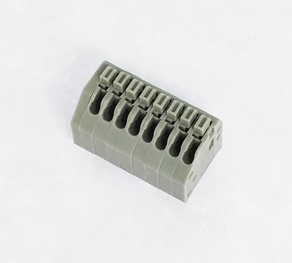 c9377f455d9 ᐃPCB Spring Terminal Block 2.54mm Pitch