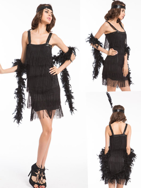 Also flapper girl halloween costume