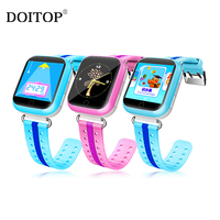 DOITOP Q750 Touch Screen Smart Watch Support GPS LBS And WIFI Location For Kid Child With