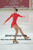 Hot Sales Ice Figure Skating Dresses Fashion New Brand Competition Child Figure Skating Dress Crystal DR3688