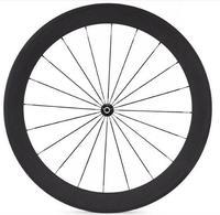 Width 23mm Chinese Carbon Road Bike Clincher Wheel 60mm Paint Custom Sticker Basalt Brake Surface
