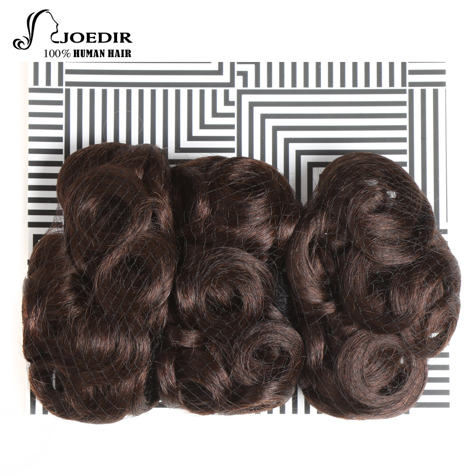 Joedir Hair Brazilian Human Hair Extension #4 Glam Curl 3 Bundles 100G 1 Pack Non Remy Human Hair Bundles Free Shpping ...