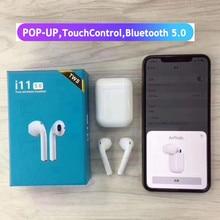 I11 Tws Ture беспроводные наушники Bluetooth гарнитура 5,0 сенсорное управление бинауральные спортивные наушники для всех смартфонов