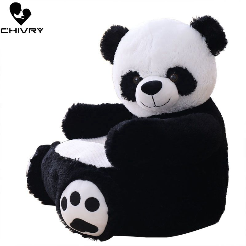 50*50*45cm Lovely Cartoon Kids Sofa Chair Plush Seat Baby Nest Sleeping Bed Stuffed Teddy Bear Panda Plush Toys Children Gift
