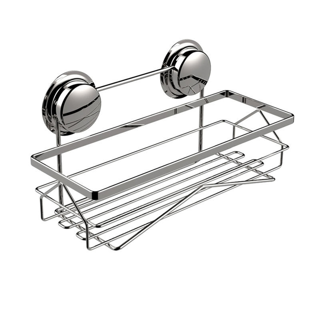 Exceptional MAXSWAN Bathroom Shelf Stainless Steel Shelves Bath Wall Dual Strong Suction  Sucker Shower Shelf Bathroom Accessories