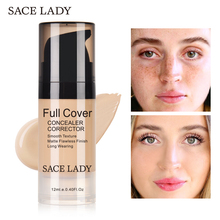5 Colors Skin Face Concealer Liquid Corrector Convenient Pro Eye Concealer Cream