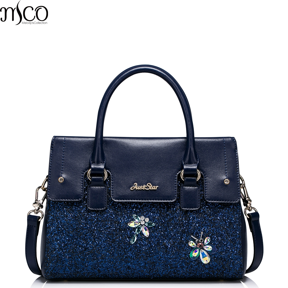 2017 Luxury Brand Design Braccialini Evening Tote Handbag Diamonds Dragonfly Shoulder Bags For Women Pu Leather Crossbody Bag In Top Handle From