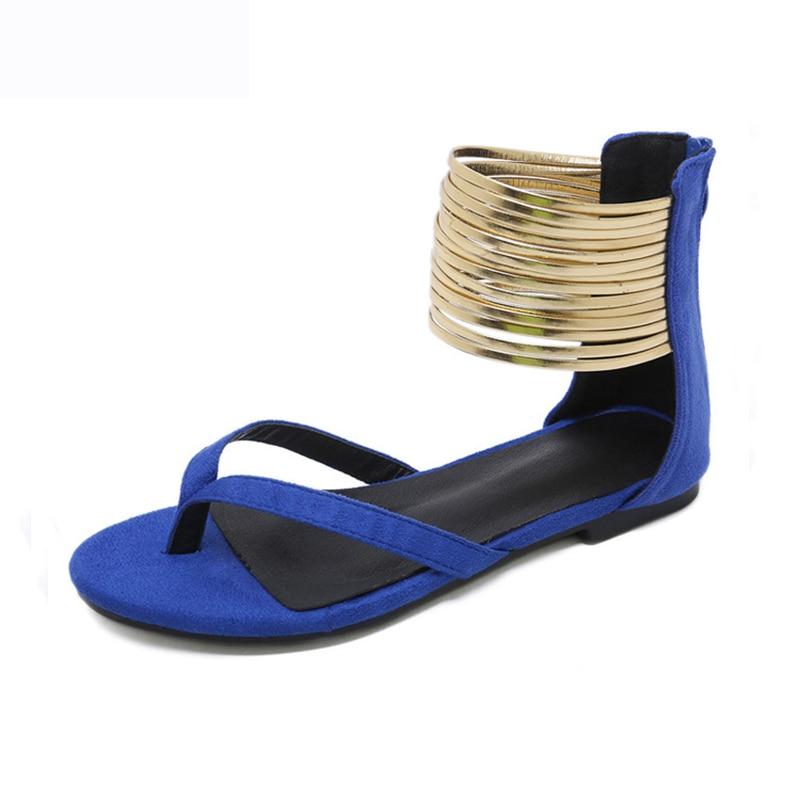 Femmes sandales belle nouvelle Zapatos Mujer femme chaussures à talons bas Chaussure gladiateur femmes sandales femmes appartements tongs sandales