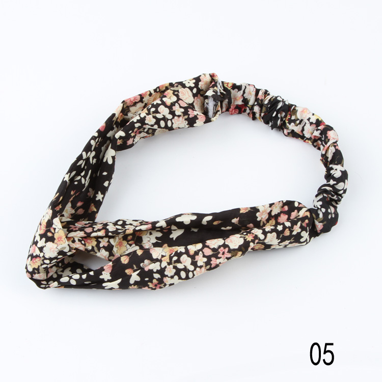 2017 Hot Arrival Sale Lovely Retro Cross Vintage Multi-colors Cloth Headband 15 Styles