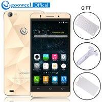 Original Gooweel M5 Pro Handy MTK6580 Quad core 5 zoll Ips-bildschirm Smartphone android 5.1 5MP + 8MP Kamera GPS 3G handy