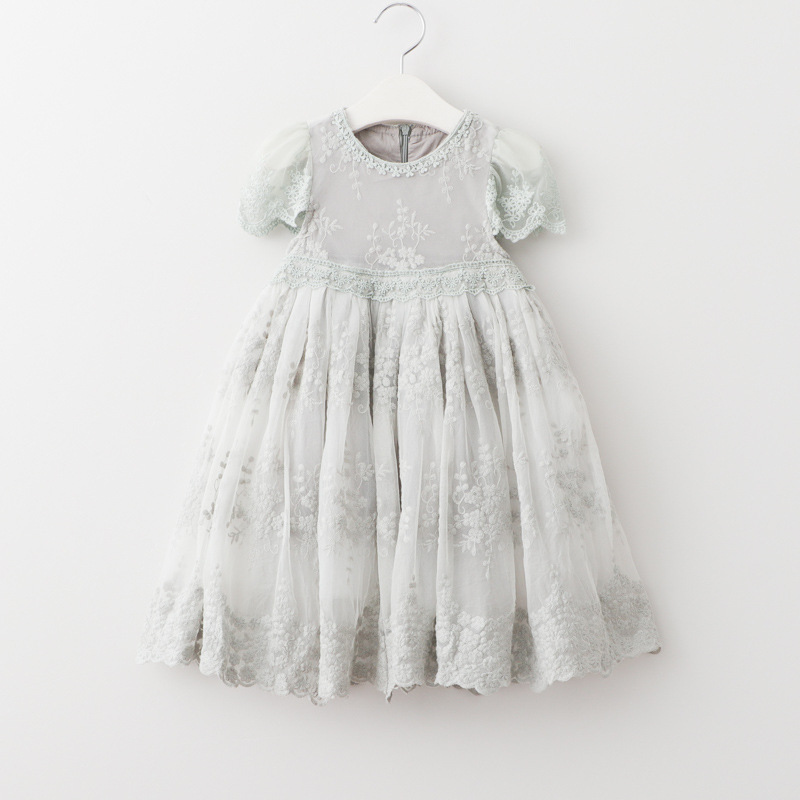 2018 new summer lace girls tutu dress cute princess kids dresses for baby birthday clothes suit 2~7 age toddler girl dress new baby girl clothing sets lace tutu romper dress jumpersuit headband 2pcs set bebes infant 1st birthday superman costumes 0 2t