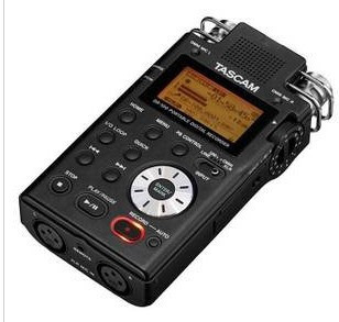 TASCAM DR-100 DR100 portable handheld recorder interview machine