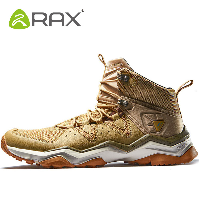 RAX Men Hiking Shoes Outdoor Athletic Mountaineering Man Brand Hunting Trekking Sport Shoes For Men Tactical Boots Mens Sneakers