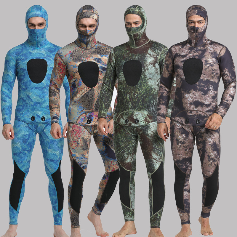 MYLEDI 3MM Neoprene Diving Suit Men Swiming Snorkeling Spearfishing Wetsuit Swimsuit Dive Suits Surf Wetsuit Scuba Swimwear men s winter warm swimwear rashguard male camouflage one piece swimsuit 3mm neoprene wetsuit man snorkeling diving suit
