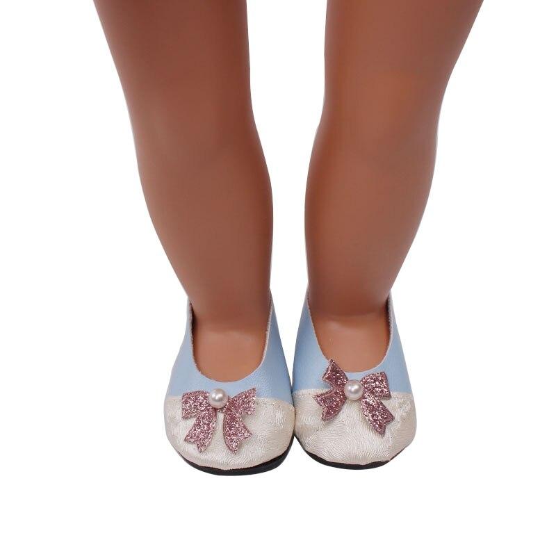 Sapatos se encaixam 18-polegada bonecas sapatos casuais boneca accessoriess215