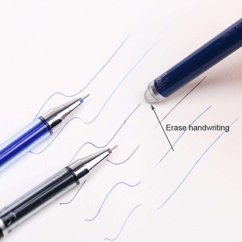 3 PCS/lot Stationery 47200 Unisex Pen Erasable Pen Unisex 0.5 Pen