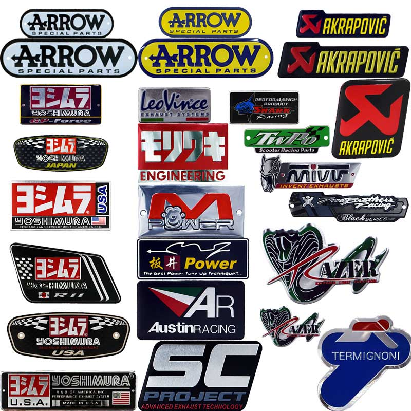 Online Get Cheap Motorcycle Exhaust Decals Aliexpresscom - Cool custom motorcycle stickers