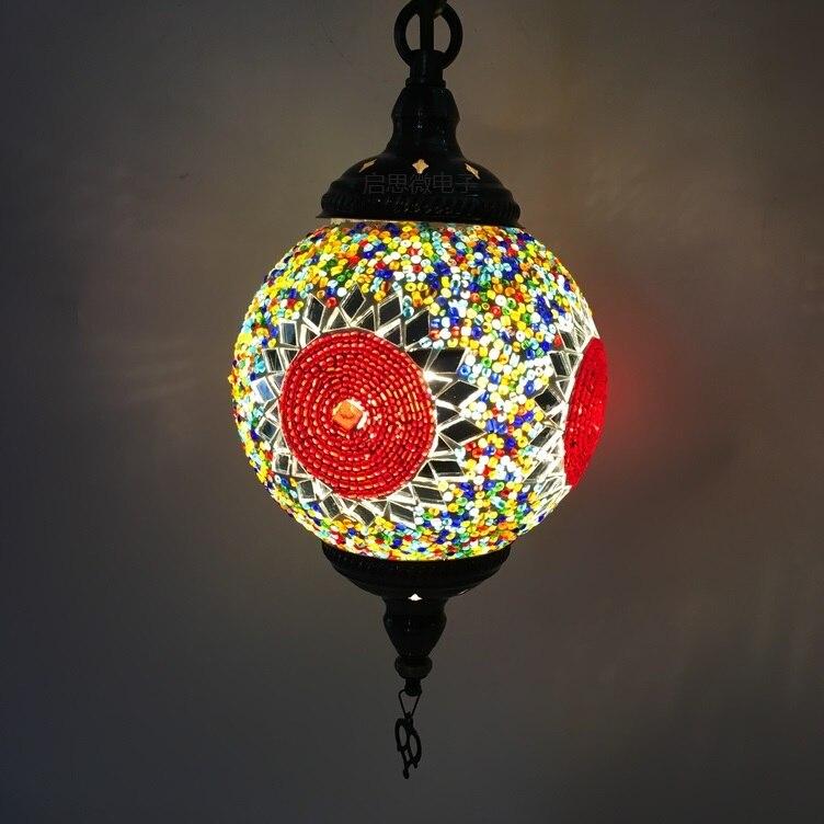 где купить New stytle Turkey ethnic customs handmade lamp romantic cafe restaurant bar tree Pendant light bar Pendant lamp по лучшей цене